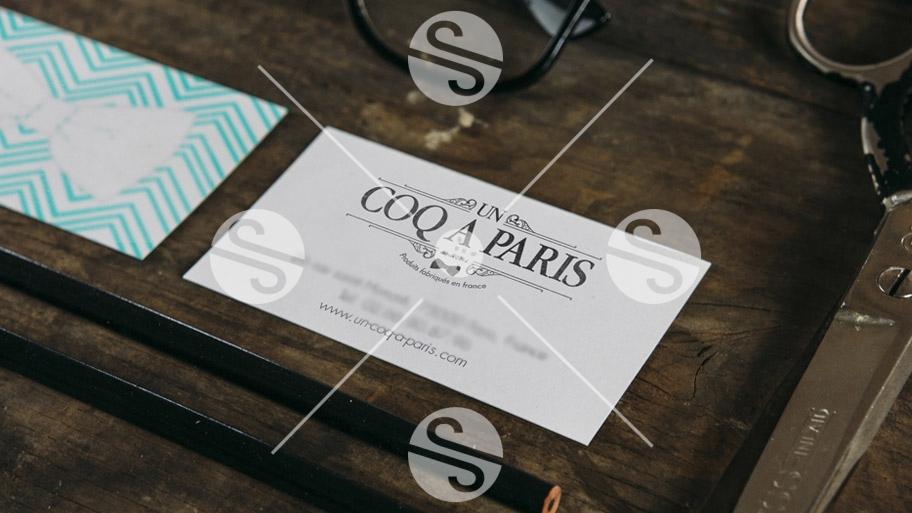 branding un coq à Paris