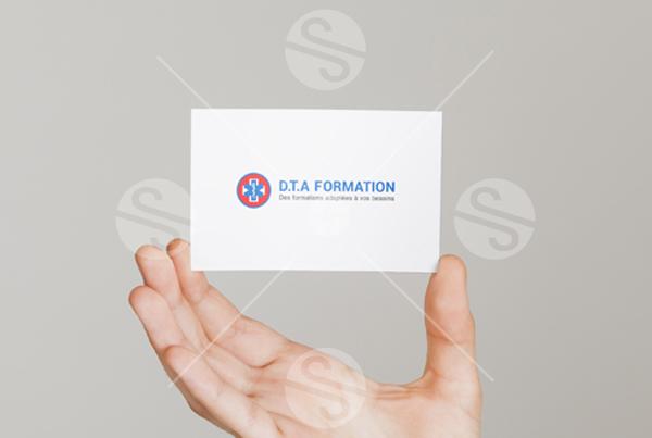 Charte graphique : conception de l'identité visuelle de DTA Formation