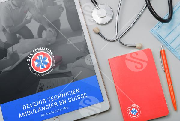 Ebook : Design de ebook pour la société Suisse DTA Formation