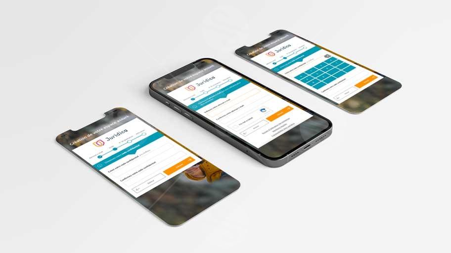 UI UX Application mobile
